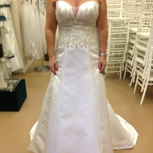 Casablanca Casablanca, Strapless Wedding Dress Wedding Dress