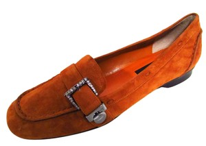 Vaneli Burnt Orange Flats