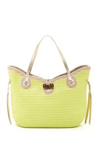 Eric Javits Tote in Chartreuse