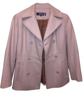 Kenneth Cole Reaction Double-breasted Tan Pea Coat