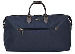 Bric's Navy and Brown Travel Bag