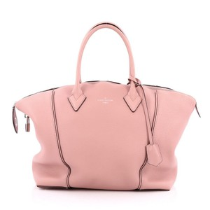 Louis Vuitton Leather Tote in Pink
