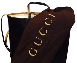 Gucci Tote in black/tan