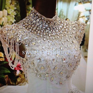 Jeweled Wedding Dress Wedding Dress