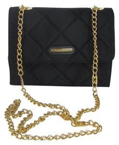 Escada Women Handbag Fabric Gold Chain Cross Body Bag