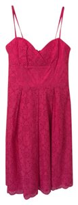 Lilly Pulitzer short dress Pink Eyelet on Tradesy
