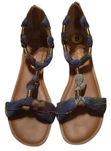 Cynthia Rowley Blue Sandals