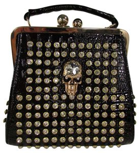 Other Women Faux Handbag Skulls Shoulder Bag