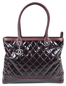 Chanel Shoppers Tote in Red