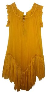 Jean-Paul Gaultier short dress Yellow on Tradesy