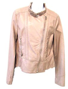 Express Expres Faux Leather Motorcycle Jacket
