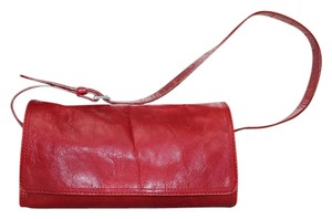 Kenneth Cole Leather Sporty Baguette