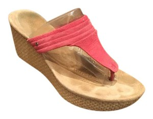 UGG Australia Ugg Wedge Poppy Pink Sandals