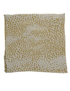 Chloé Chloe Animal Print Silk Large Scarf