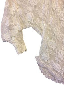 Other Lace Lingerie Lace Trim Loungewear Sexy Skirt White