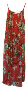 Patterned Maxi Dress by Apricot Lane Beach Cover-up Floral Flowy Maxi