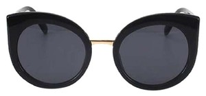 Other Black Round Cat Eye Sunglasses