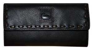 Dooney & Bourke Florentine Black Continental Wallet