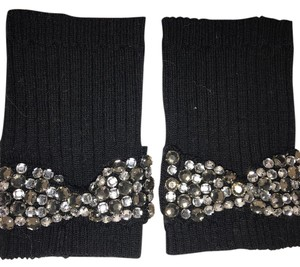 Juicy Couture fingerless gloves with bows