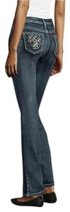 Soundgirl Straight Leg Jeans-Medium Wash