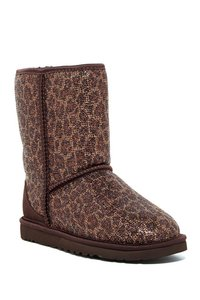 UGG Australia Leopard Brown with Glitter Boots