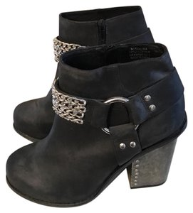 Jeffrey Campbell Black/Silver Boots