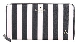 Kate Spade * Kate Spade Fairmount Square Striped Lacey Wallet