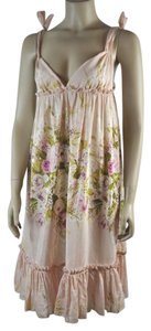 Blumarine short dress Multicolor Romantic Summer Floral on Tradesy