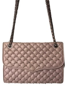 Rebecca Minkoff Quilted Leather Leather Studded Cross Body Bag