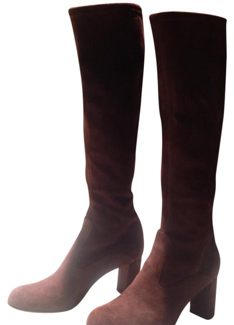 Valentino Brown Suede Boots/Booties Size US 5 Regular (M, B) Valentino Brown Suede Boots/Booties Size US 5 Regular (M, B) Image 1
