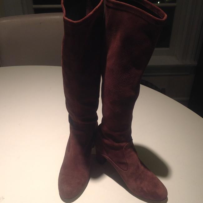 Valentino Brown Suede Boots/Booties Size US 5 Regular (M, B) Valentino Brown Suede Boots/Booties Size US 5 Regular (M, B) Image 3