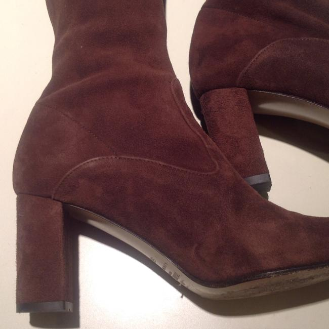 Valentino Brown Suede Boots/Booties Size US 5 Regular (M, B) Valentino Brown Suede Boots/Booties Size US 5 Regular (M, B) Image 4