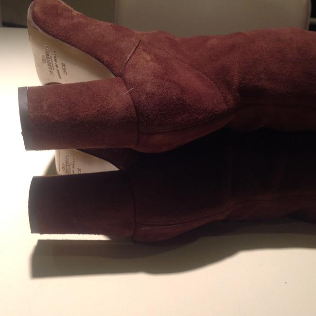 Valentino Brown Suede Boots/Booties Size US 5 Regular (M, B) Valentino Brown Suede Boots/Booties Size US 5 Regular (M, B) Image 5