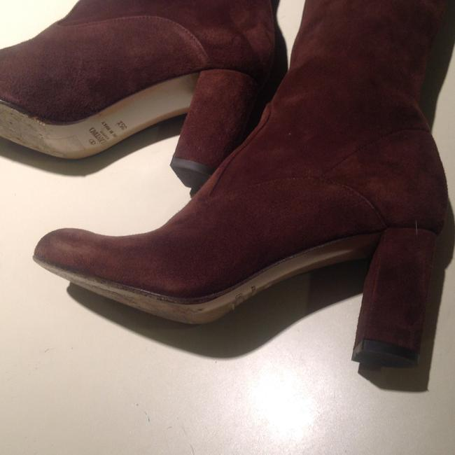 Valentino Brown Suede Boots/Booties Size US 5 Regular (M, B) Valentino Brown Suede Boots/Booties Size US 5 Regular (M, B) Image 8