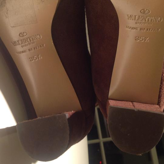 Valentino Brown Boots Image 8