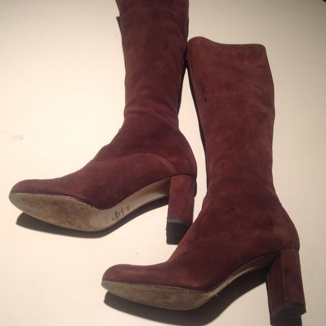 Valentino Brown Suede Boots/Booties Size US 5 Regular (M, B) Valentino Brown Suede Boots/Booties Size US 5 Regular (M, B) Image 9