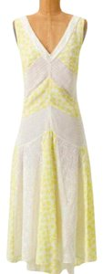 Yellow Maxi Dress by Anthropologie Flowy High-low Back