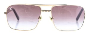 Louis Vuitton Brown and Gold Attitude Sunglasses