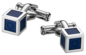 Montblanc Montblanc Cufflinks Iconic Lines Cube Blue - 111308