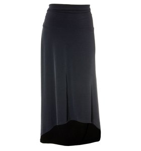 Michael Kors Maxi Skirt Navy Blue