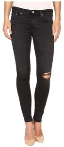 AG Adriano Goldschmied Distressed Soft Skinny Jeans-Distressed