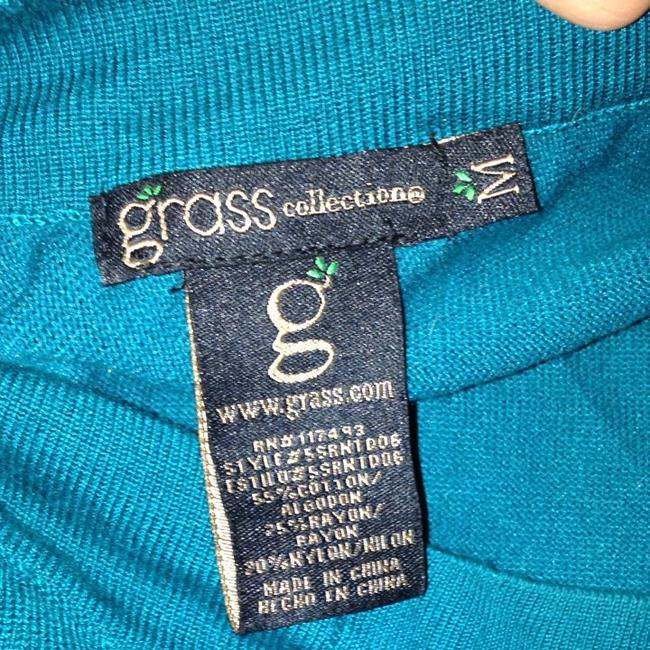 Grass Collection One Top Aqua