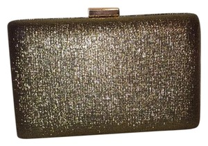 Saks Fifth Avenue Gold Clutch