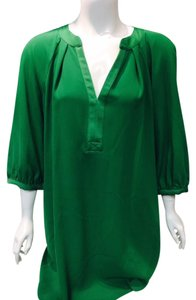 Trina Turk short dress Green Shift on Tradesy