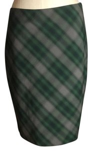 The Limited Skirt Green/Grey