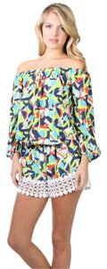 Voom by Joy Han Romper Mini/Short Shorts Multicolor