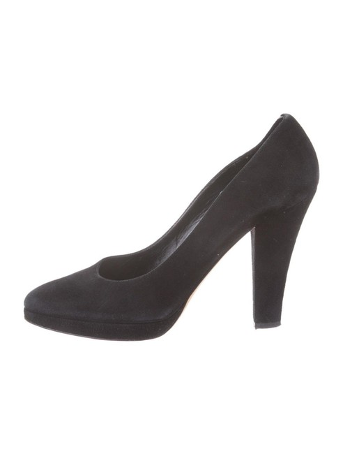 Michael Kors Collection Black Suede Pumps Size US 9 Regular (M, B) Michael Kors Collection Black Suede Pumps Size US 9 Regular (M, B) Image 1