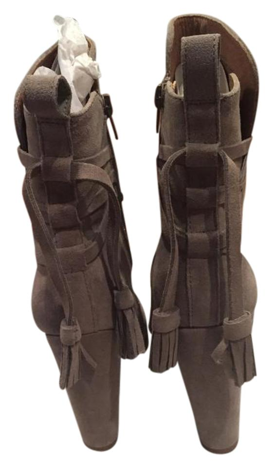Steve Madden Madden Steve Taupe Suede Glorria Boots/Booties 83d10a