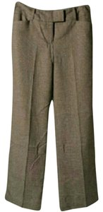 Ann Taylor Trousers Work Business Boot Cut Pants Brown