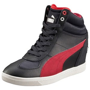 Puma Black, Navy, Red Athletic